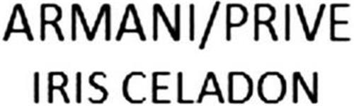 ARMANI/PRIVE IRIS CELADON