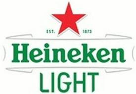 HEINEKEN LIGHT EST. 1873