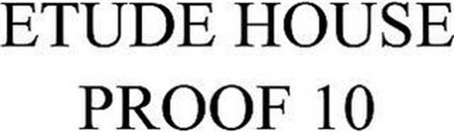 ETUDE HOUSE PROOF 10