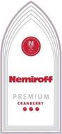 NEMIROFF PREMIUM CRANBERRY INTERNATIONAL BRAND NEMIROFF N 1872