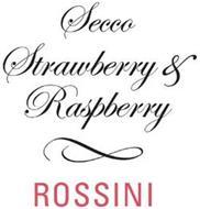 SECCO STRAWBERRY & RASPBERRY ROSSINI
