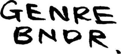 GENRE BNDR.