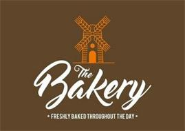 THE BAKERY · FRESHLY BAKED THROUGHOUT THE DAY ·