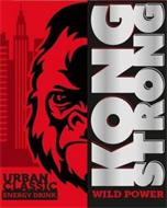KONG STRONG WILD POWER URBAN CLASSIC ENERGY DRINK