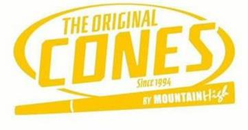 THE ORIGINAL CONES SINCE 1994 BY MOUNTAIN HIGH
