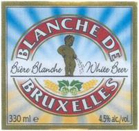 BLANCHE DE BRUXELLES BIÈRE BLANCHE WHITE BEER