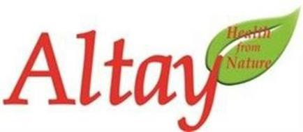 ALTAY HEALTH FROM NATURE