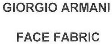 GIORGIO ARMANI FACE FABRIC