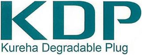 KDP KUREHA DEGRADABLE PLUG