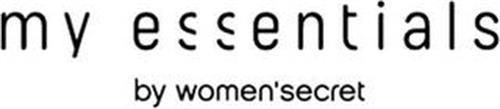 MY ESSENTIALS BY WOMEN'SECRET