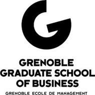 GRENOBLE GRADUATE SCHOOL OF BUSINESS GRENOBLE ECOLE DE MANAGEMENT G