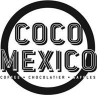 COCO MEXICO COFFEE · CHOCOLATIER · JAFFLES