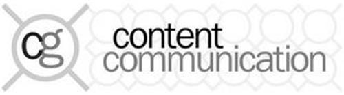 CG CONTENT COMMUNICATION