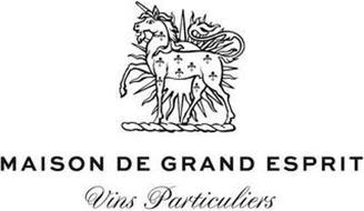 MAISON DE GRAND ESPRIT VINS PARTICULIERS