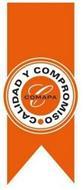 CALIDAD Y COMPROMISO C COMAPA