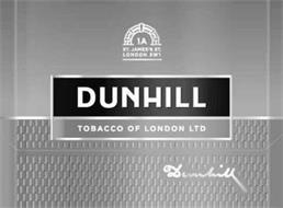 DUNHILL TOBACCO OF LONDON LTD DUNHILL 1A ST. JAMES'S ST. LONDON SW1