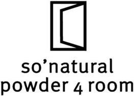 SO'NATURAL POWDER 4 ROOM