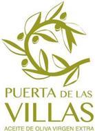 PUERTA DE LAS VILLAS ACEITE DE OLIVA VIRGEN EXTRA
