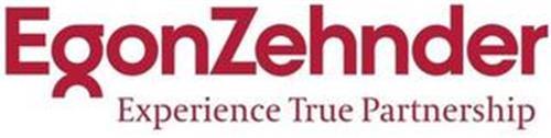 EGONZEHNDER EXPERIENCE TRUE PARTNERSHIP