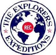 REC. THE EXPLORERS EXPEDITIONS