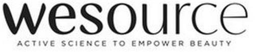 WESOURCE ACTIVE SCIENCE TO EMPOWER BEAUTY