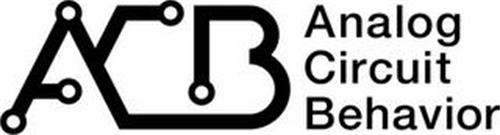 ACB ANALOG CIRCUIT BEHAVIOR