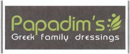 PAPADIM'S GREEK FAMILY DRESSINGS