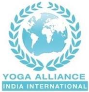 YOGA ALLIANCE INDIA INTERNATIONAL
