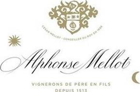 ALPHONSE MELLOT VIGNERONS DE PÈRE EN FILS DEPUIS 1513 CÉSAR MELLOT-CONSEILLER DU ROY EN 1698