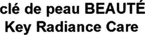 CLÉ DE PEAU BEAUTÉ KEY RADIANCE CARE