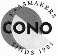 CONO KAASMAKERS SINDS 1901