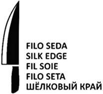FILO SEDA SILK EDGE FIL SOIE FILO SETA ...