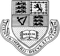 SCIENTIA SCIENTIA · IMPERII · DECUS ·ET· TUTAMEN
