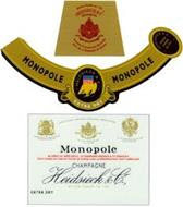 MONOPOLE CHAMPAGNE HEIDSIECK & CO. EXTRA DRY