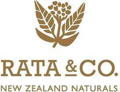 RATA & CO. NEW ZEALAND NATURALS