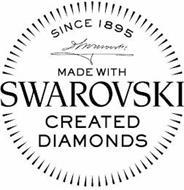 MADE WITH SWAROVSKI CREATED DIAMONDS SINCE 1895