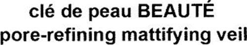 CLÉ DE PEAU BEAUTÉ PORE-REFINING MATTIFYING VEIL