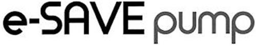 E-SAVE PUMP