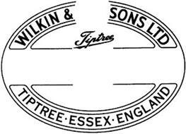 WILKIN & SONS LTD TIPTREE TIPTREE · ESSEX · ENGLAND