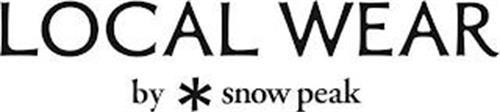 LOCAL WEAR BY SNOW PEAK