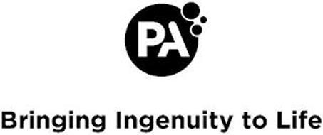 PA BRINGING INGENUITY TO LIFE
