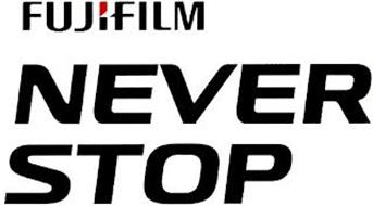 FUJIFILM NEVER STOP