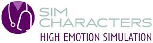 SIM CHARACTERS - HIGH EMOTION SIMULATION