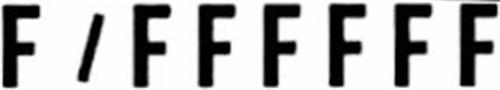 F/FFFFFF