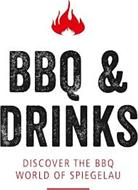 BBQ & DRINKS DISCOVER THE BBQ WORLD OF SPIEGELAU