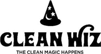 CLEAN WIZ THE CLEAN MAGIC HAPPENS