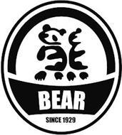 BEAR SINCE 1929