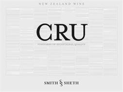 NEW ZEALAND WINE CRU VINEYARDS OF EXCEPTIONAL QUALITY SMITH & SHETH