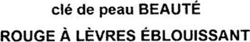 CLÉ DE PEAU BEAUTÉ ROUGE À LÈVRES ÉBLOUISSANT