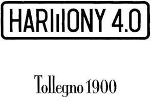 HARMONY 4.0 TOLLEGNO 1900